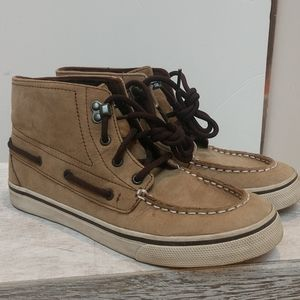 Sperry High top shoes Youth 5 Women's Sz 7